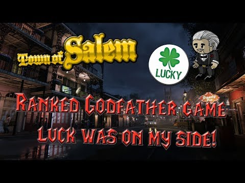 Town of Salem - Ranked Game - Lucky Godfather play I almost screwed up!