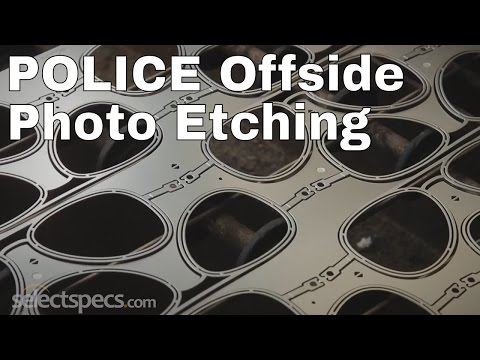 Police Offside Photo Etching - With Selectspecs.com