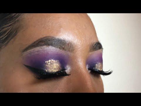 Purple Reign Makeup Look   Tatyana Celeste