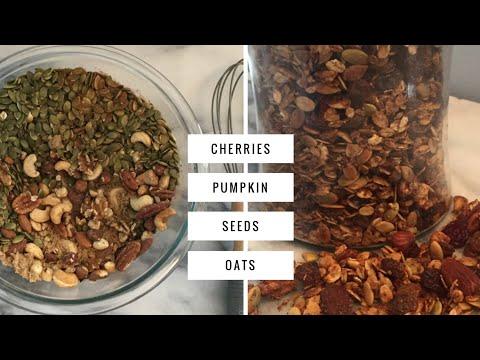 Pumpkin Pie Spice Granola | Healthy Low Sugar