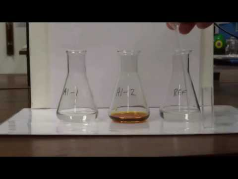 Kinetics of Iodination of Acetone Pre Lab Video