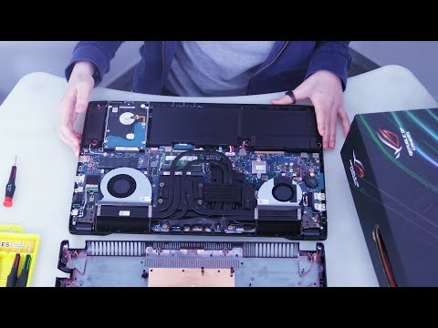 Tearing down the world's first notebook with AMD Ryzen 7 desktop processor