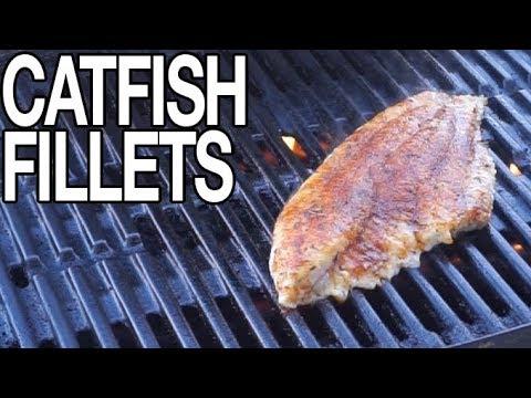 Grilled Catfish Fillets