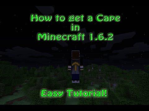 Minecraft 1.6.2 Cape Tutorial
