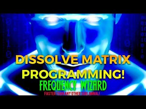 ⚡️DISSOLVE ALL MATRIX PROGRAMMING FAST! BINAURAL BEATS MEDITATION HYPNOSIS FREQUENCY WIZARD SPELL