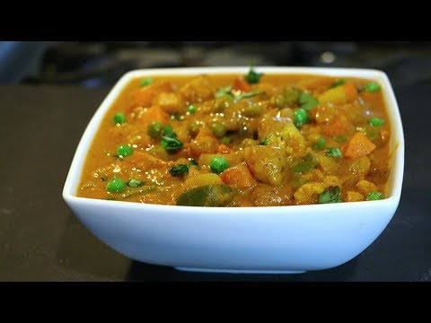 Mix Veg Recipe | Restaurant Style Mix Vegetable Curry English translation in description box