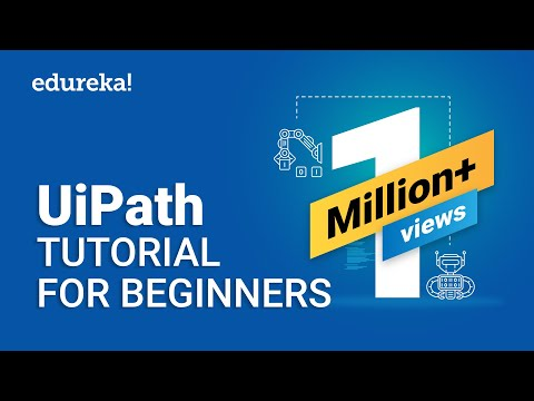 UiPath Tutorial For Beginners | RPA Tutorial For Beginners | UiPath Training Online | Edureka