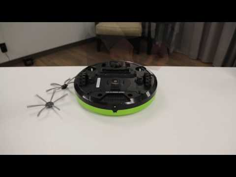 DigiPro® Robotic Vacuum - Side Brush Maintenance