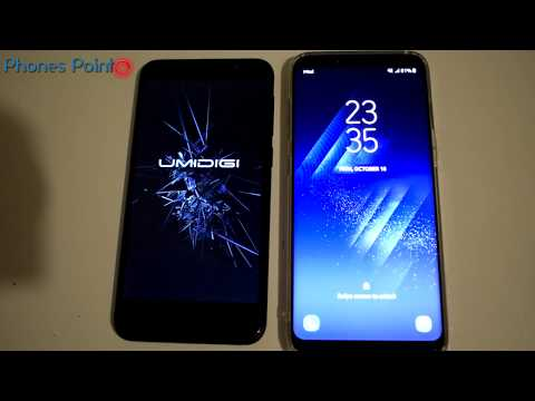 Samsung S8 vs Umidigi G - Speed test ☑
