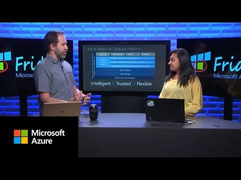 Azure Friday | Introducing Azure DB for PostgreSQL