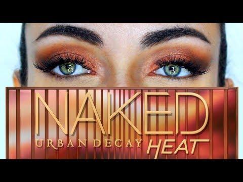 Urban Decay Naked Heat Cat Eye Makeup Tutorial | MakeupAndArtFreak