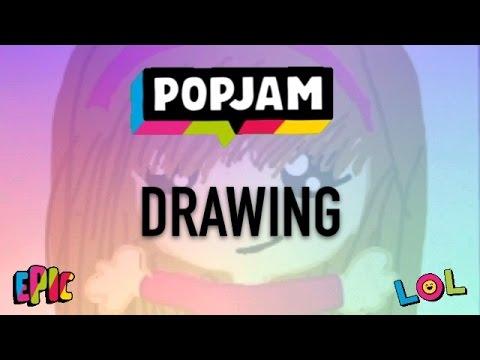 Drawing On Popjam