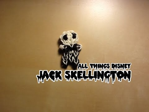 Rainbow Loom Jack Skellington Charm/Figure: The Nightmare Before Christmas