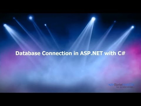 Database Connection in ASP NET with C# using web.config