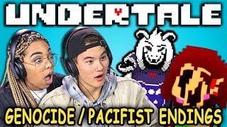 PACIFIST & GENOCIDE ENDINGS! | UNDERTALE - Part 9 (React: Let