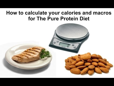 How to calculate your calories and macros for The Pure Protein Diet