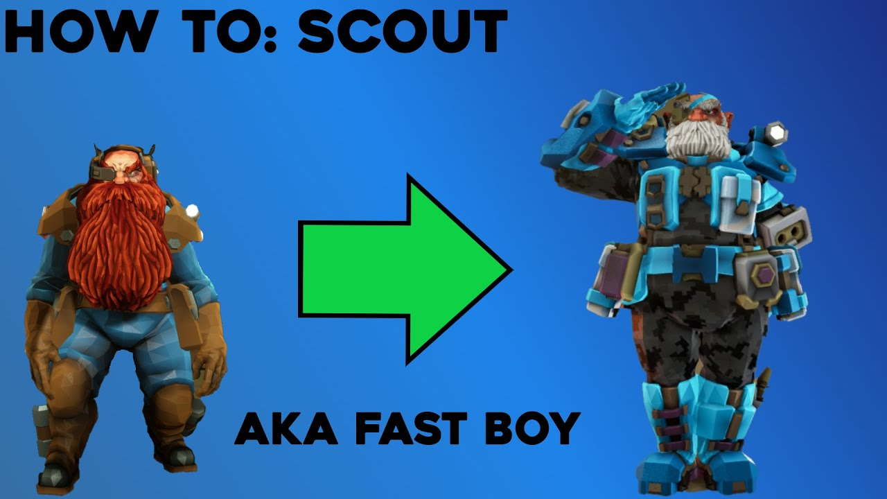 SCOUT CLASS GUIDE +Gameplay and Build   Deep Rock Galactic