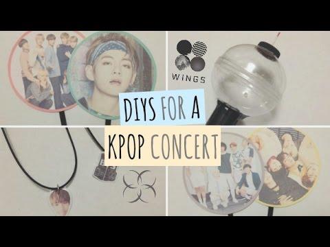 DIYS for a Kpop Concert // BTS Wings Tour Edition ♡