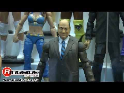 PAUL HEYMAN Mattel WWE Figures REVEALED at SDCC 2013!