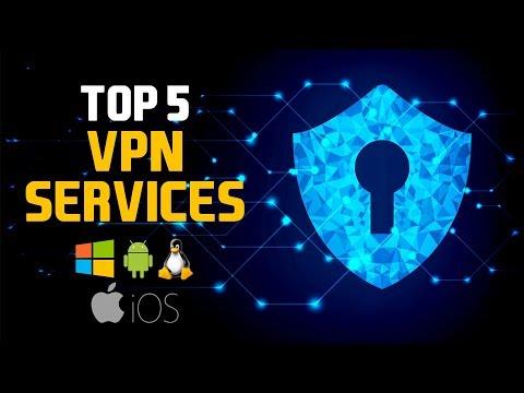 Top 5 Best VPN Services 2018