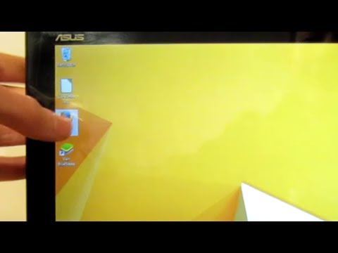 Windows 8.1 on a tablet (Asus Transformer Book T100)