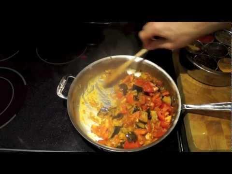 Tomato Eggplant Curry