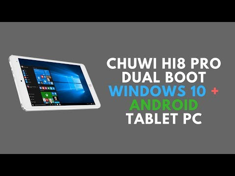 Chuwi Hi8 Pro Dual Boot WINDOWS 10 + ANDROID Tablet PC