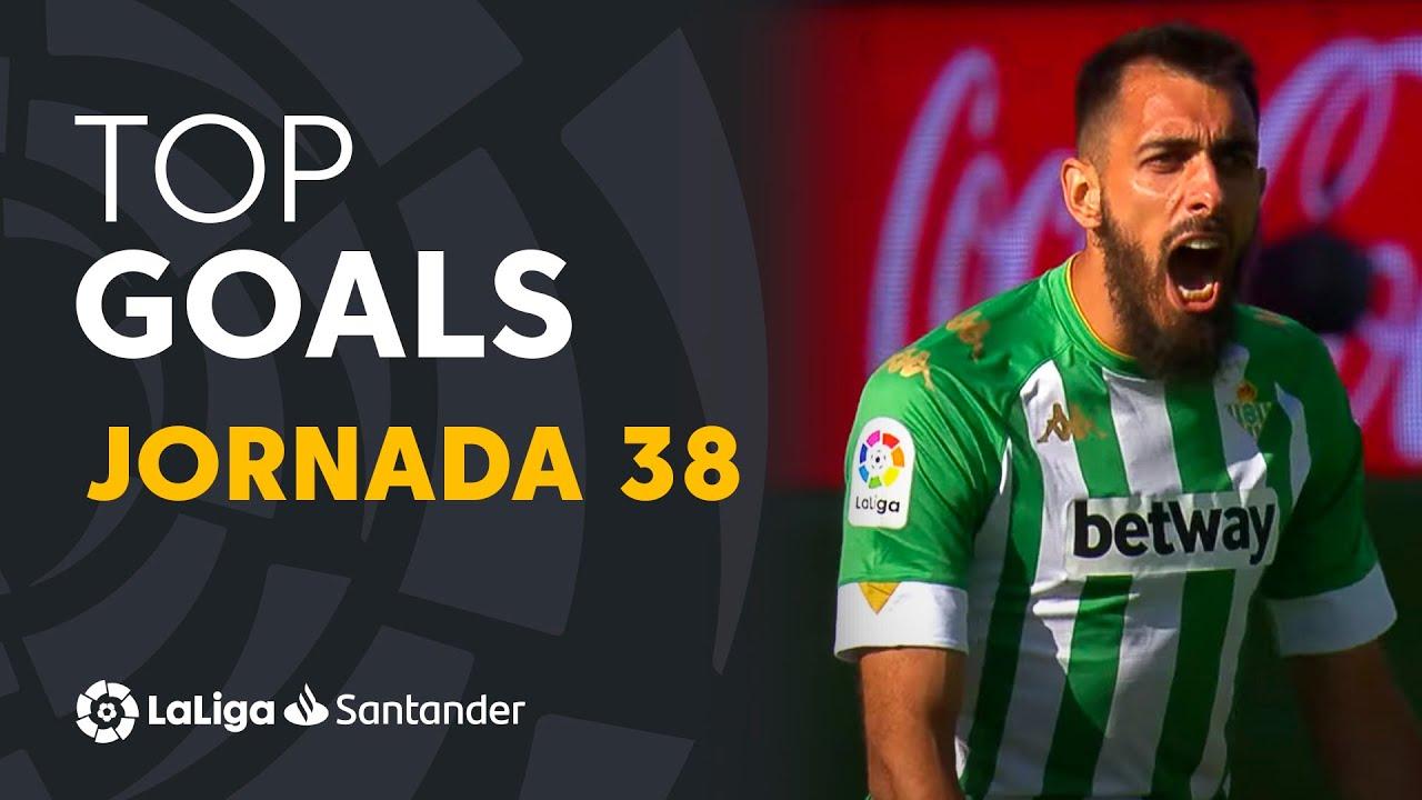 Todos los goles de la jornada 38 de LaLiga Santander 2020/2021