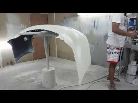 2017 nissan patrol rear bumper painting color cord - QAB
