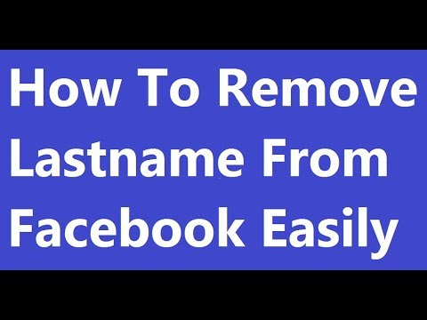 [ Gujarati ]How to remove last name from facebook - Gujarati Tricks and Tips