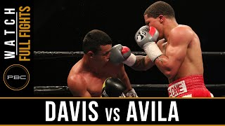 Davis vs Avila FULL FIGHT: April 1, 2016 - PBC on Spike