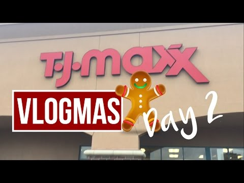 Vlogmas 2016 Day 2 [Christmas Shopping & Chrismas Tree Auction]