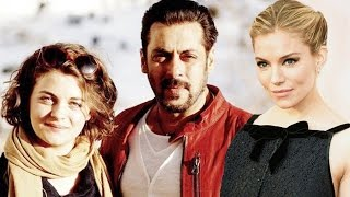 Salman & Sienna Miller Comes Together After Decades, Ronja Forcher On The Set Of Tiger Zinda Hai