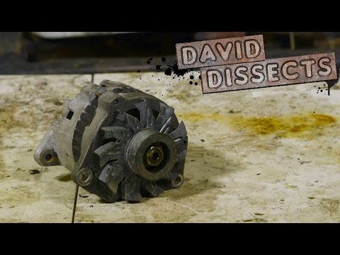This Is How An Alternator Works | David Dissects