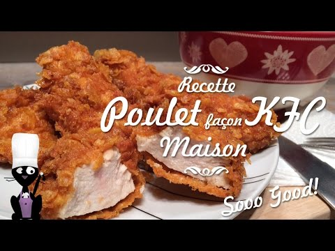 ☆ ◦Comment faire du POULET KFC maison - Le poulet façon sooooo good◦☆