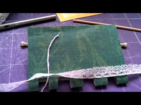 How to make a roller blind for your 1/12 scale dolls house