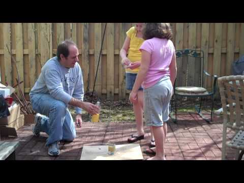 Baking Soda and Vinegar Rocket - Experiment #2