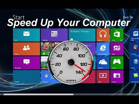 How to make Windows 8 and Windows 8.1 run faster