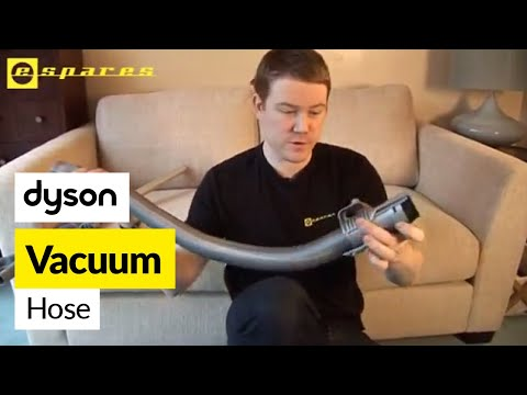 How to replace a Dyson hose on a Dyson DC07 vacuum cleaner