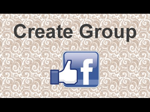 How to create a Facebook group - 2015