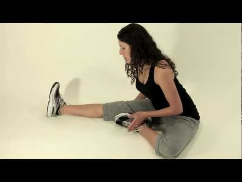 Seated Hamstring Stretch 2