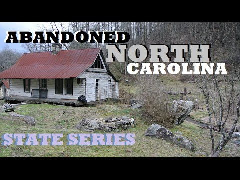 ABANDONED HOUSE WITH VINTAGE CLOTHES (ABANDONED NC STATE SERIES)