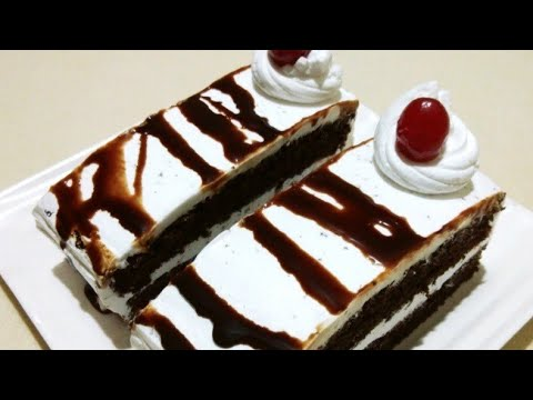 eggless chocolate pastry recipe||ઈંડા વગર ની ચોકલેટ પેસ્ટ્રી બનાવવાની રીત