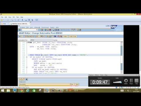 SAP Script - Part 5 - Day 28
