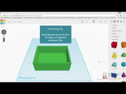 08 (of 13) - How to Duplicate to Another Workplane in Tinkercad