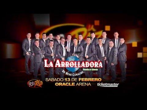 La Arrolladora Banda el Limon y Larry Hernandez llegan al Oracle Arena este 13 de Febrero