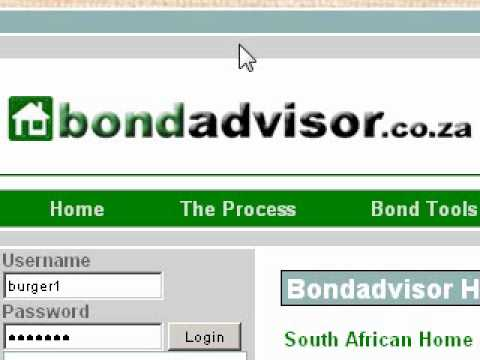 Bondadvisor South African Home Loan Service