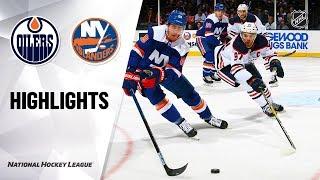 Oilers Islanders 10819 Highlights