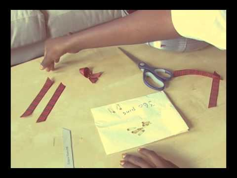 How to make a Tartan Ribbon