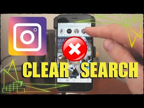 How To Clear Search History On Instagram In iPhone & Android 2017